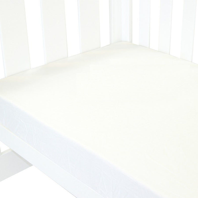 Babyhood Classic White Fitted Sheet