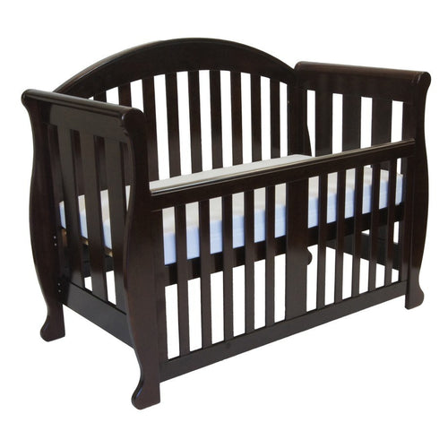 Grow with Me Sleigh 6 in 1 Cot - English Oak