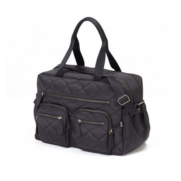 OiOi Quilted Diamond Carry All Nappy Bag