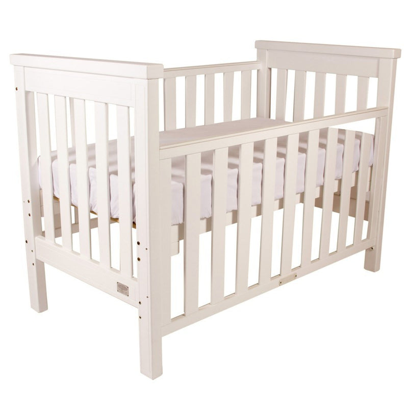 Babyhood Milano Cot 4 In 1 - White