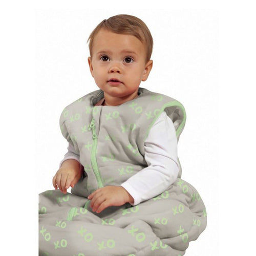 Baby Studio Baby Sleeping Bag - Lime Kiss and Hugs - 6-18 Months