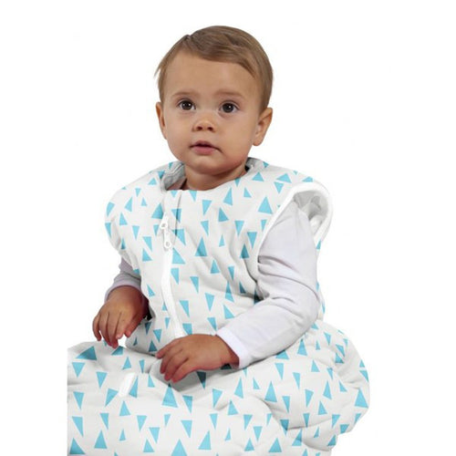 Baby Studio Baby Sleeping Bag - Aqua Pinnacles - 6-18 Months