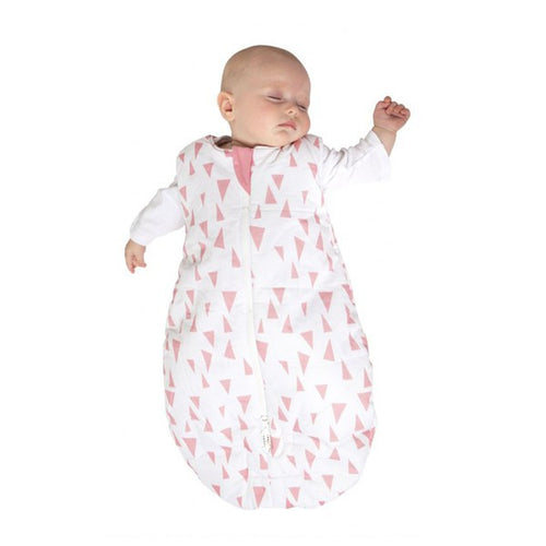 Baby Studio Infant Sleeping Bag - Pink Pinnacles - 0-6 Months