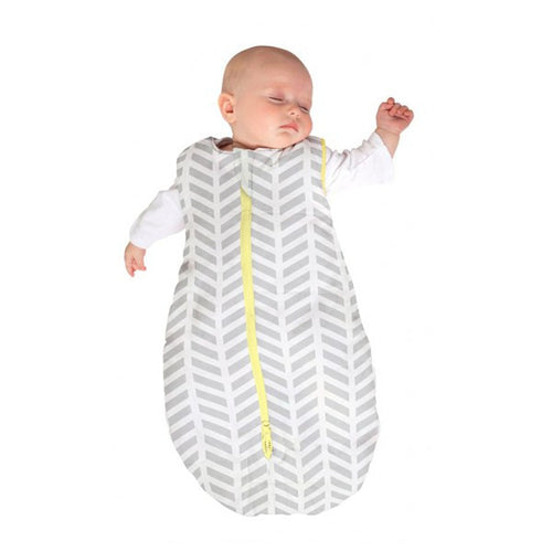 Baby Studio Infant Sleeping Bag - Grey Zig Zag - 0-6 Months