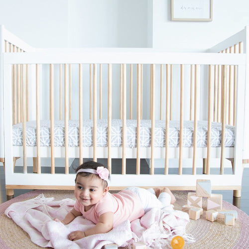 Babyhood Riya Cot + Mattress Package Deal 2Pce