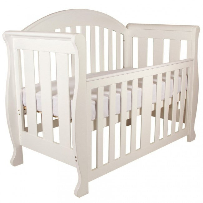Grow with Me Sleigh 6 in 1 Cot - White