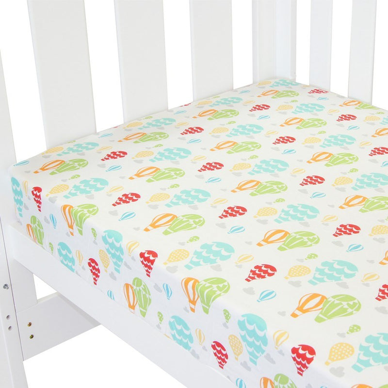 Babyhood Fitted Sheet - Up In The Sky
