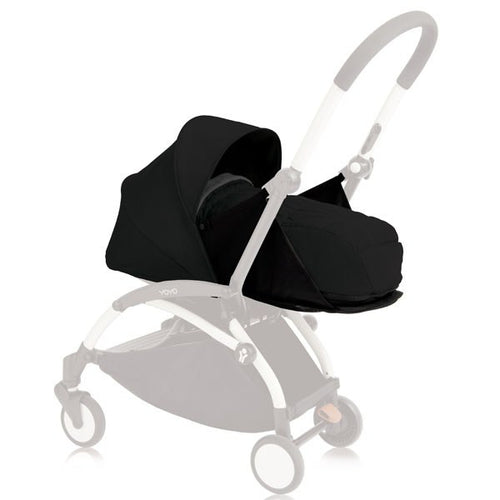 BabyZen YoYo+ Bassinet - Black
