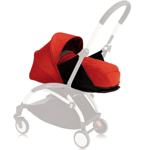 BabyZen YoYo+ Bassinet - Red