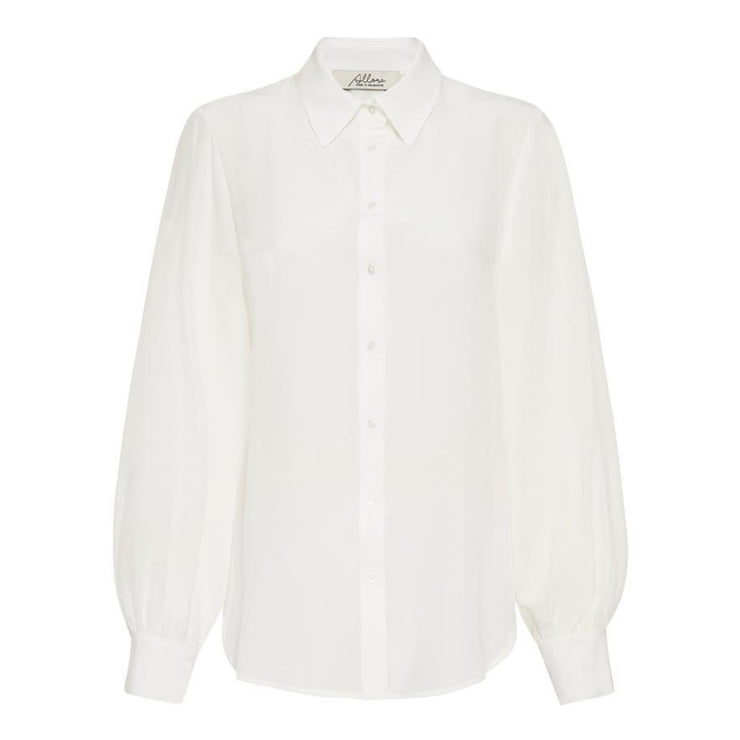 Manhattan Silk Shirt - Off White