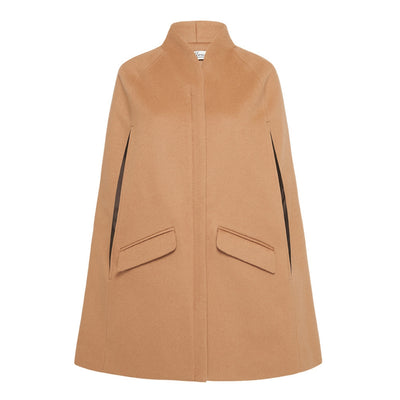 Chelsea Tailored Cape - Camel