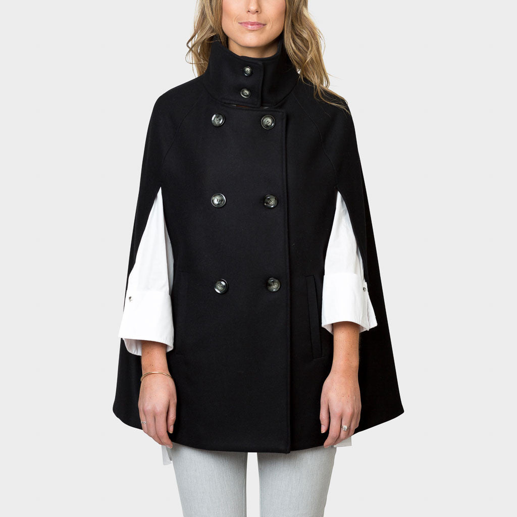 Cape jacket for women