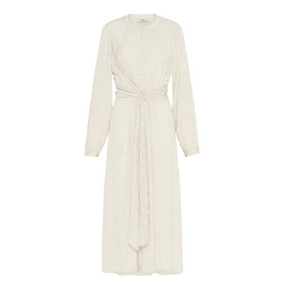 Claremont Midi Dress - Ecru