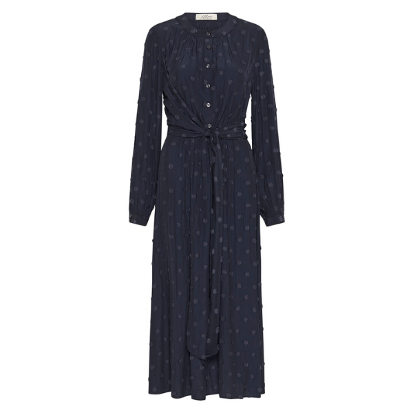 Claremont Dress - Navy