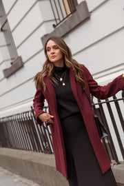 Wool and Cashmere Coat lifestyle 2