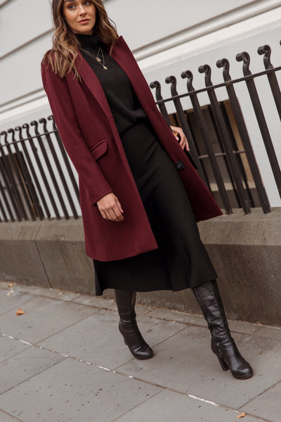 Wool and Cashmere Coat lifestyle 3