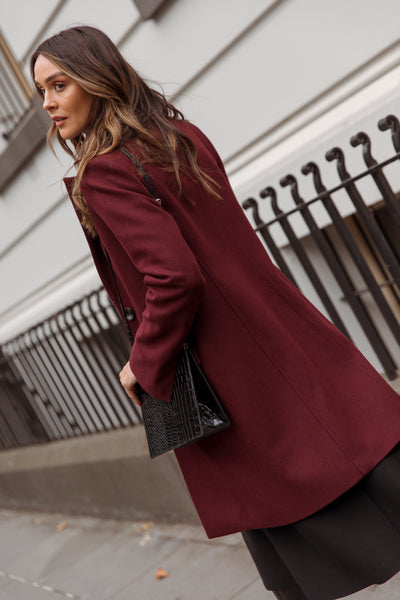 Wool and Cashmere Coat lifestyle 6