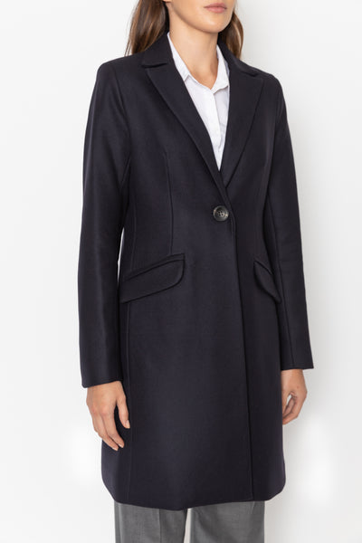 Tailored Coat - French Navy
