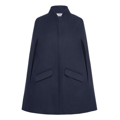 Chelsea Tailored Cape - Navy