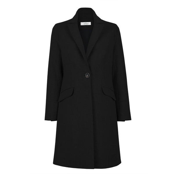 Women's Wool Coat Black