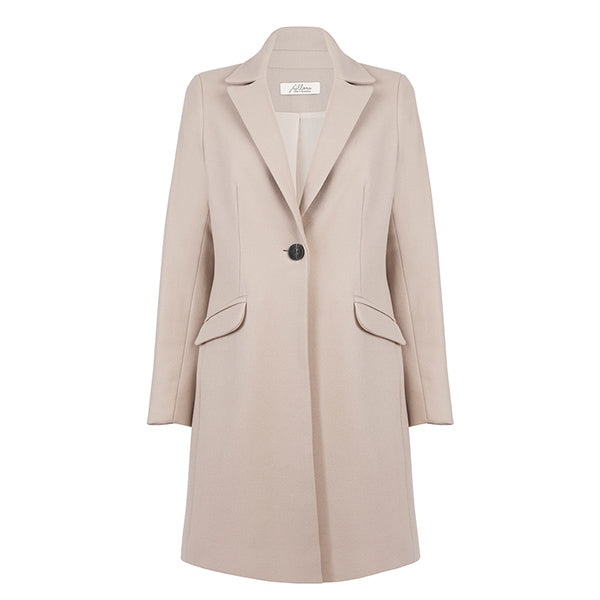 Tailored Coat - Bisque