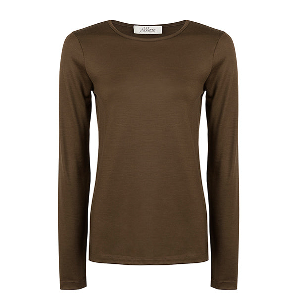 Superfine Merino Crew - Copper