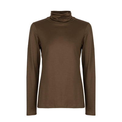 Superfine Merino Skivvy - Copper
