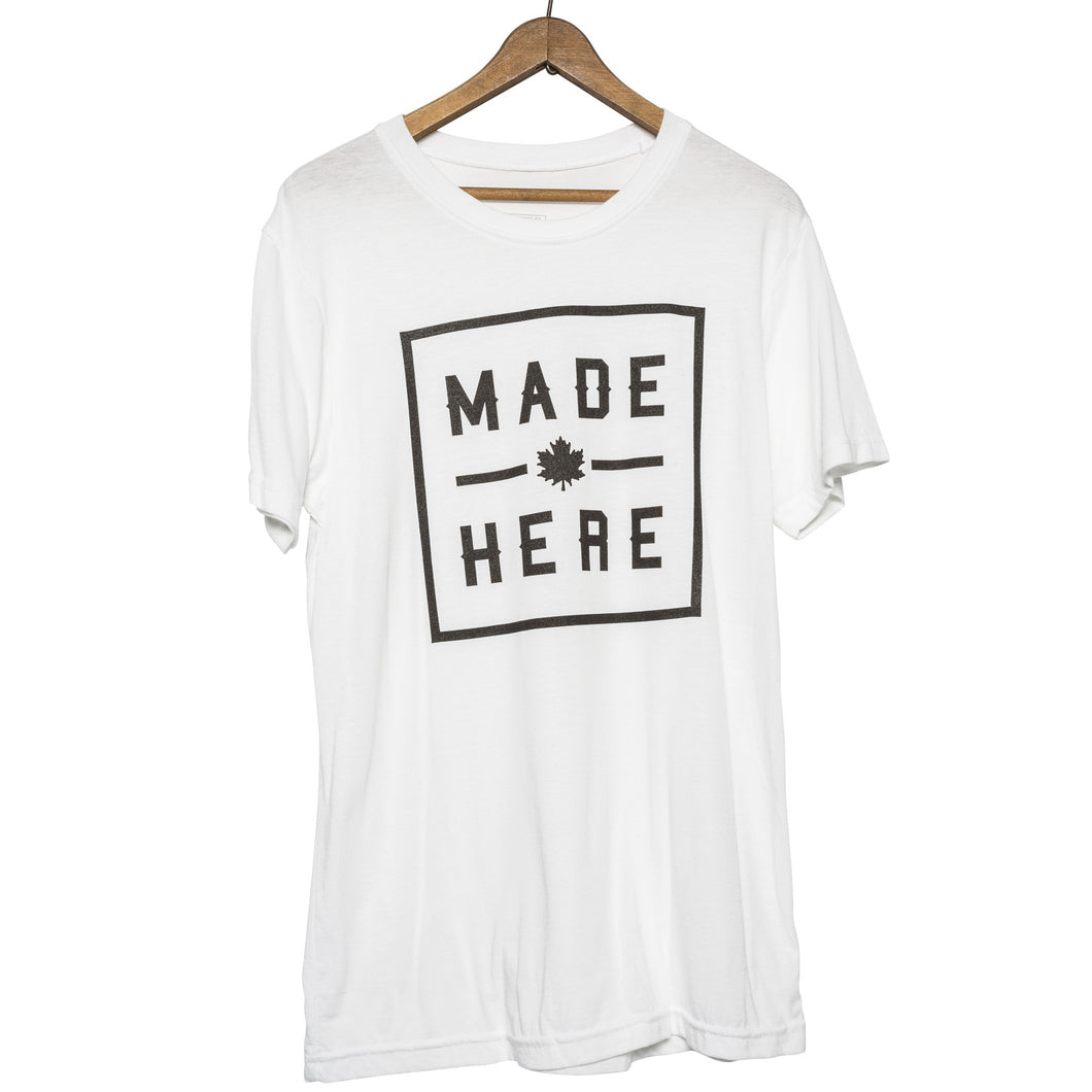 MADE HERE T-SHIRT WHITE