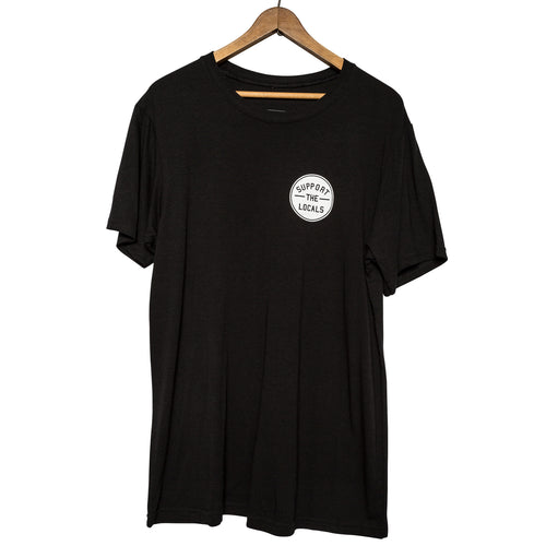 STL LOGO T-SHIRT BLACK