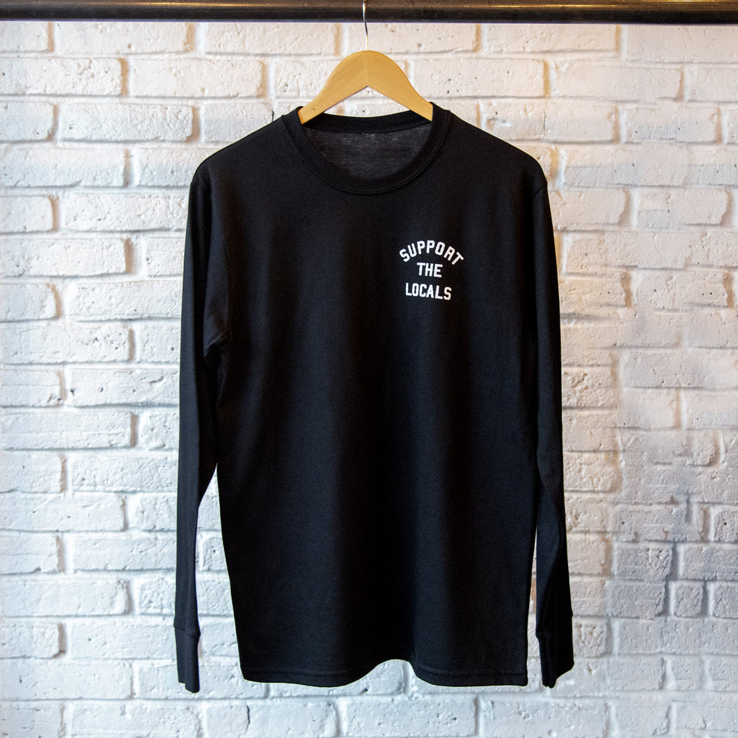 MINI 'UNION' LOGO LONG SLEEVE BLACK