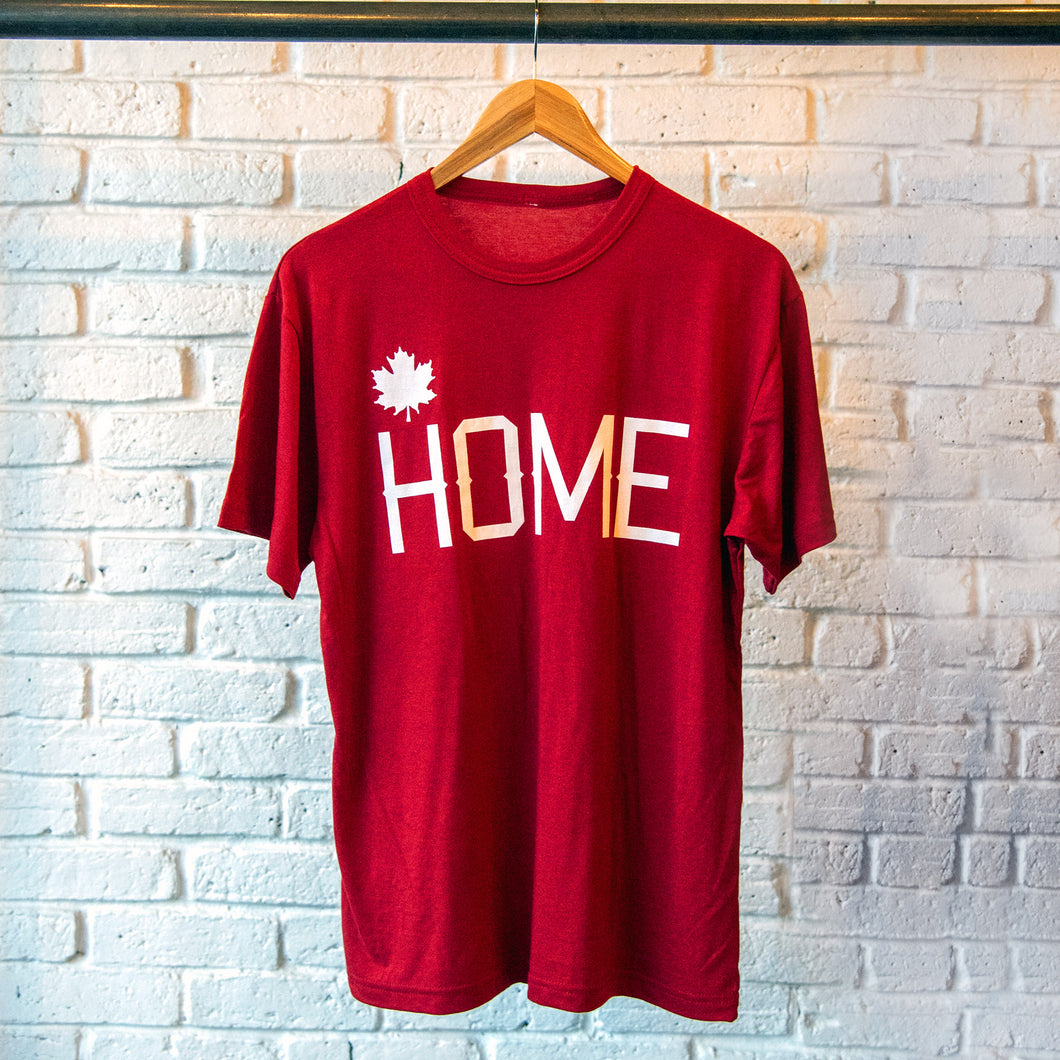 HOME T-SHIRT RED