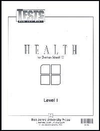 BJU Health Level 1 Tests (102707) (Bob Jones University Health, Level 1 Tests)