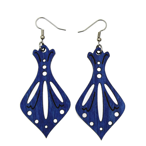 Aurora Wooden Earrings - Color Options