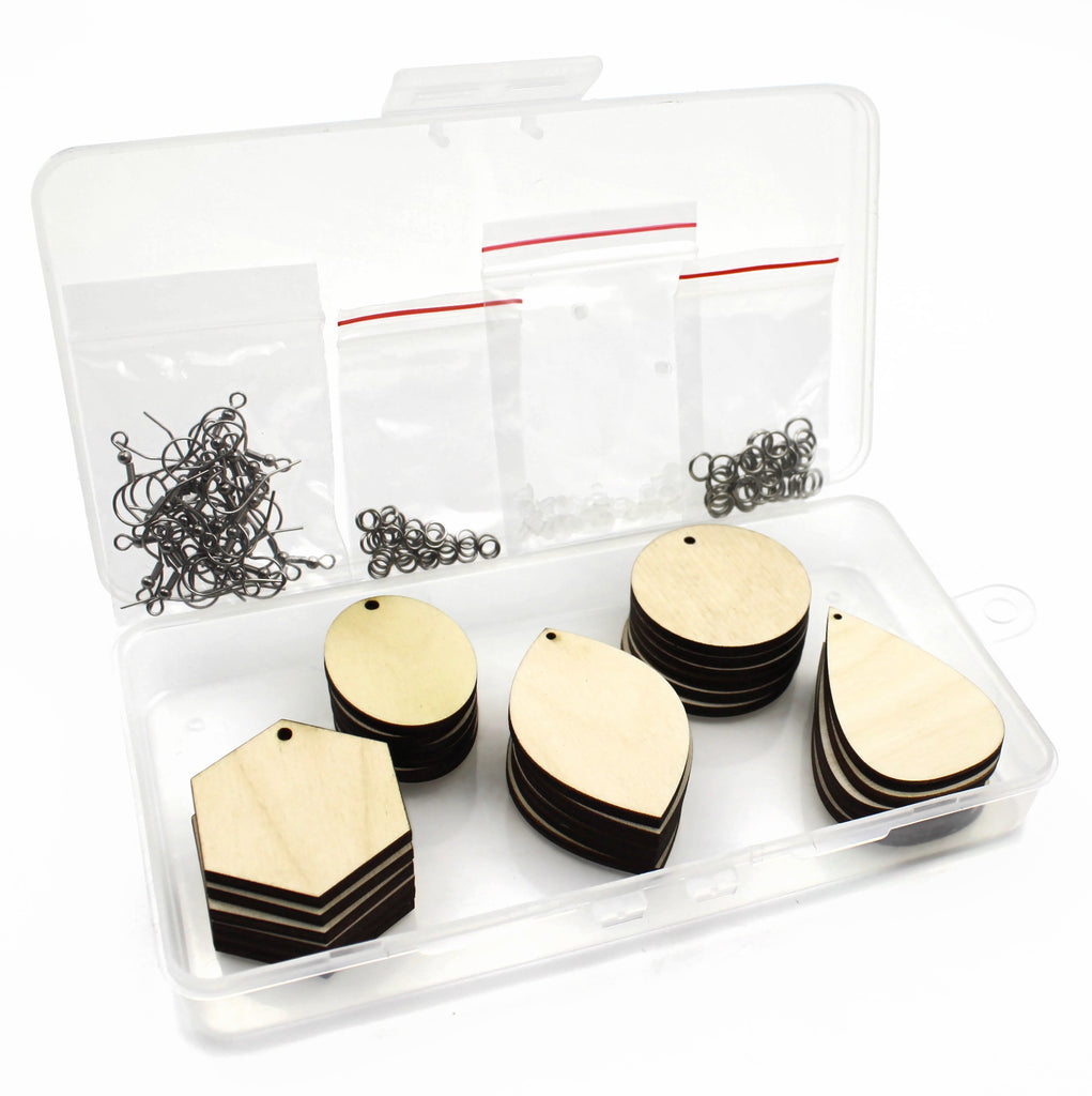 Jewelry Making Kit - 30 Pcs Earrings Variety Pack