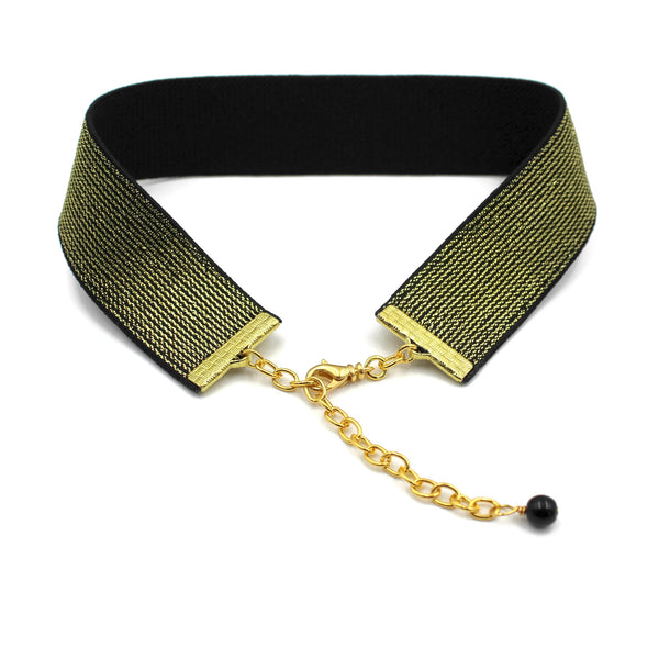 Metallic Choker - Gold or Silver