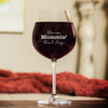 Because Mommin' Ain't Easy Wine Glasses