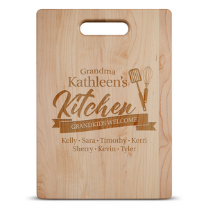 Grandma's Kitchen Cutting Board