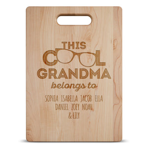 This Cool Grandma Belongs To ... Cutting Board