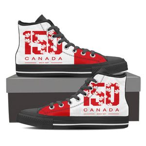 Women's High Top 150th Canada Day Shoe