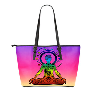 Premium Leather Tote Bags - Yoga Designs