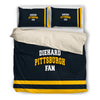 Diehard Pittsburgh Fan Bedding Set black