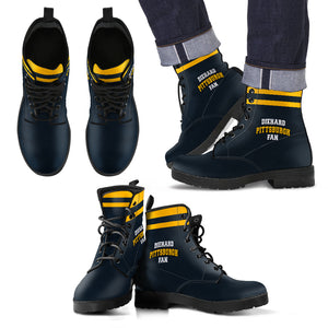 Diehard Pittsburgh Fan Boots