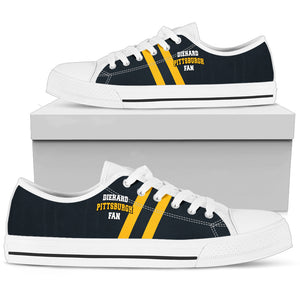 Diehard Pittsburgh Fan Low Top