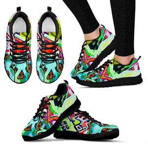 Graffiti Modern Art Brae - Running Shoes Sneakers