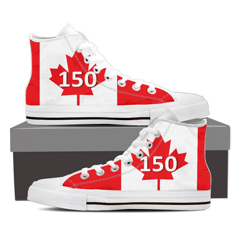 Men's High Top Canada Day Canvas Shoe
