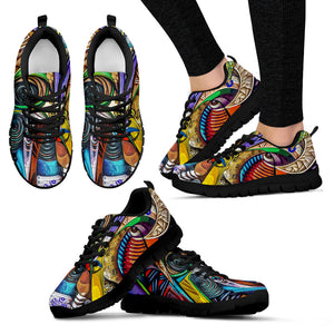 Graffiti Modern Art Work Colourful - Running shoes Sneakers