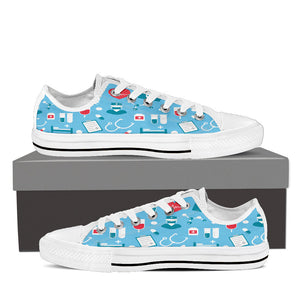 Custom(Nurse) Low Top Canvas Shoes- Express