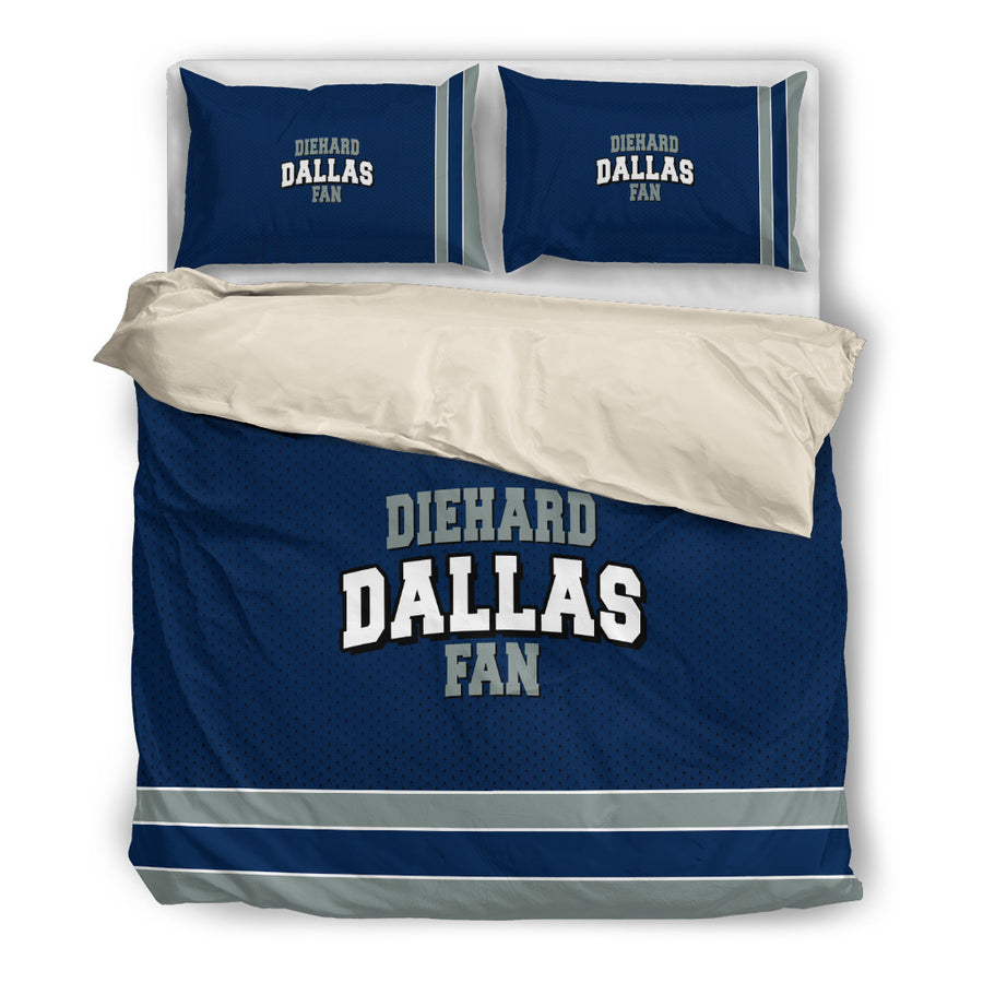 Diehard Dallas Fan Bedding Set