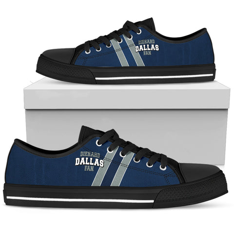 Diehard Dallas Fan Low Top Shoes
