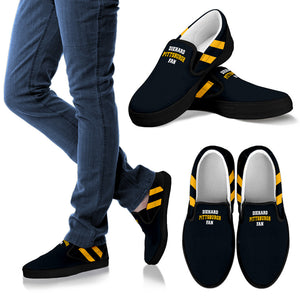 Diehard Pittsburgh Fan Slip- Ons